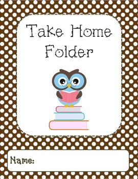 Owl Binder Covers-Brown