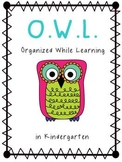 Owl Binder Covers--Organized While Learning