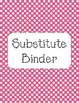 Owl Binder Covers-Pink