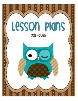 Owl Binder Front Covers