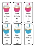 Owl Birthday Bookmarks