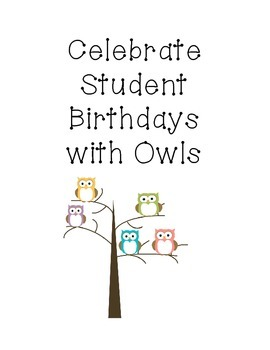 Owl Birthday Passes