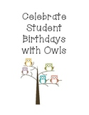 Owl Birthday Passes
