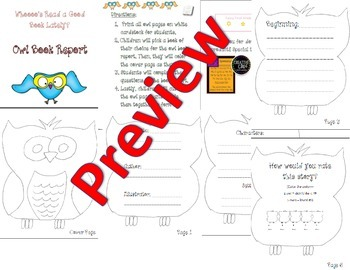 Owl Book Report