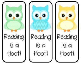 Owl Bookmarks
