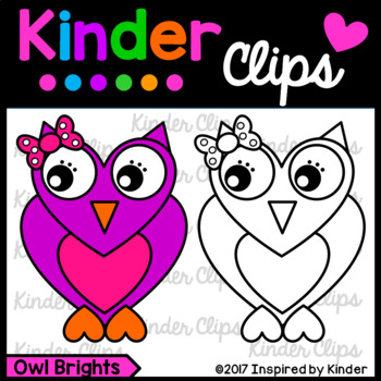 Owl Brights Clipart