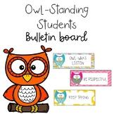 Owl Bulletin Board  (Owl-Standing Students)