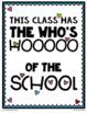 Owl Bulletin Board Set {The Who's Hooooooo of the School}