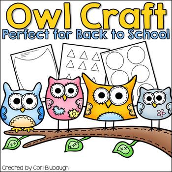 Owl Bulletin Board Template - FREEBIE