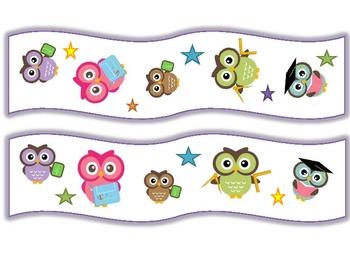 Owl Bulletin Board Trimmer