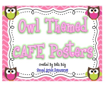 Owl Cafe Posters