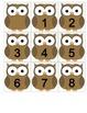 Owl Calendar Cards