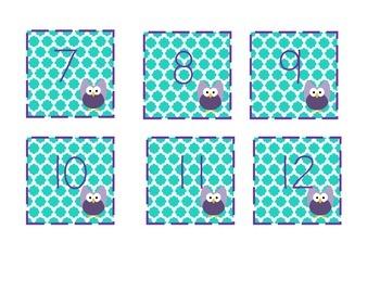 Owl Calendar Days
