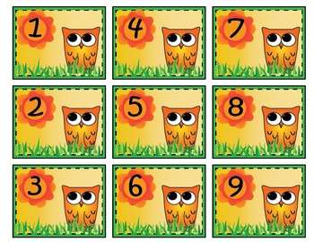 Owl Months & Numbers