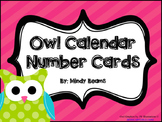Owl Calendar Number Cards
