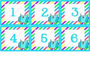 Owl Calendar Set