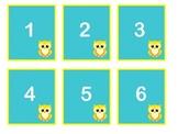 Owl Calendar Set-Polka dot