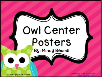 Owl Center Posters - Two Options