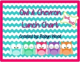 Owl & Chevron Lunch Choice Chart