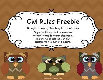 Owl Chevron Rules