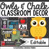 Owl Themed Classroom Decor, Owl Theme