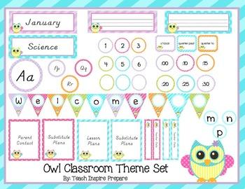 Owl Classroom Decorations