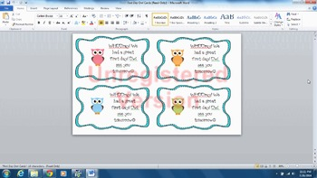 Owl Classroom Decorations Pack