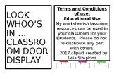 Owl Classroom Door Display