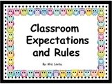 Owl Classroom Expectations and Rules