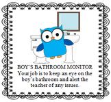 Owl Classroom Jobs with Descriptions