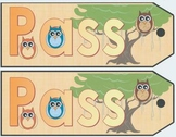 Owl Classroom Pass
