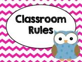 Owl Classroom Rules