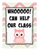 Owl Classroom Wish List (orientation, open house, teacher nights, etc...)