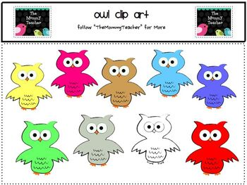 Clip Art - Owl ClipArt