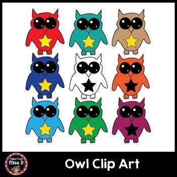 Owl Clip Art