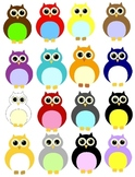 Owl Clip Art 32 PNG Images: Enough For Your Whole Class!