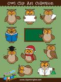 Owl Clip Art Collection