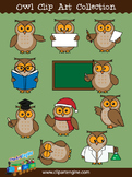 Owl Clip Art Collection
