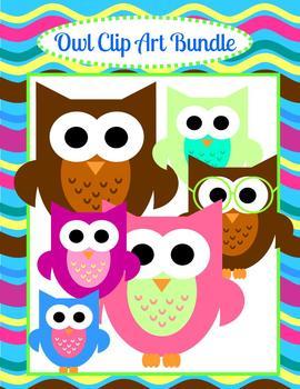 Owl Clip Art... Cute, Cute, Cute
