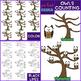 Owl Clip Art - Owls Mega BUNDLE {jen hart Clip Art}
