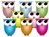 Spring Owl - Clip Art