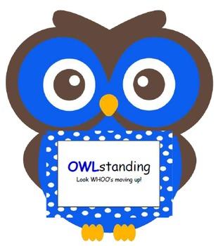 Owl Clip Chart