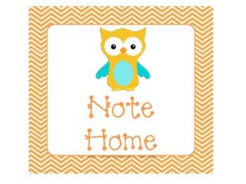 Owl Clip Chart Headings