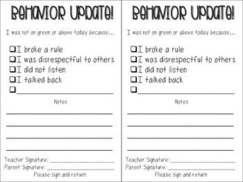Owl Clip Chart and Behavior Tools