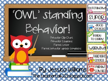 Owl Clip Chart and Behavior Tools