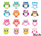Owl Clipart cute owls owl bird leaves Owl Clip Art PNG Images paper