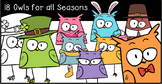 Owl Clipart - for all Occasions