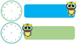 Owl Clock Schedule - Free