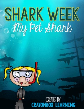 Shark Flip Book - Shark Week - Interactive Notebook - Shark Writing