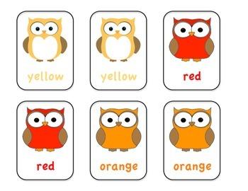 Owl Color Memory